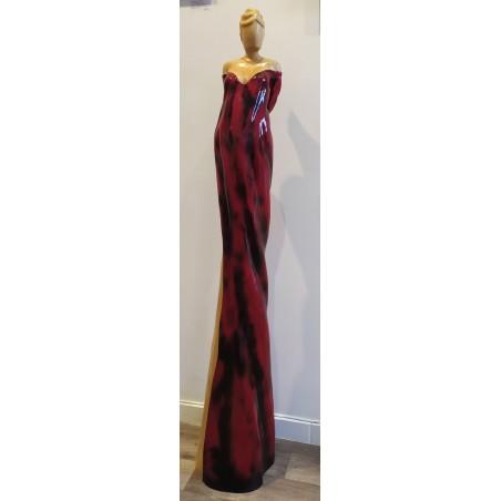 384 Najean - Elégante Rouge et Noir