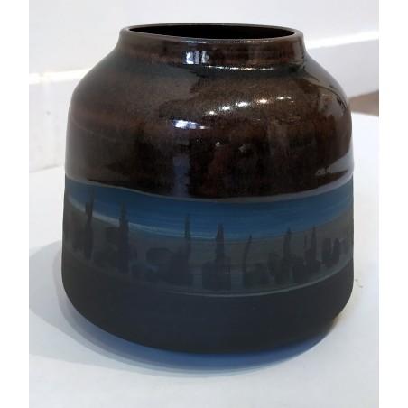 392 Ellcy Cieb - Vase émaillé
