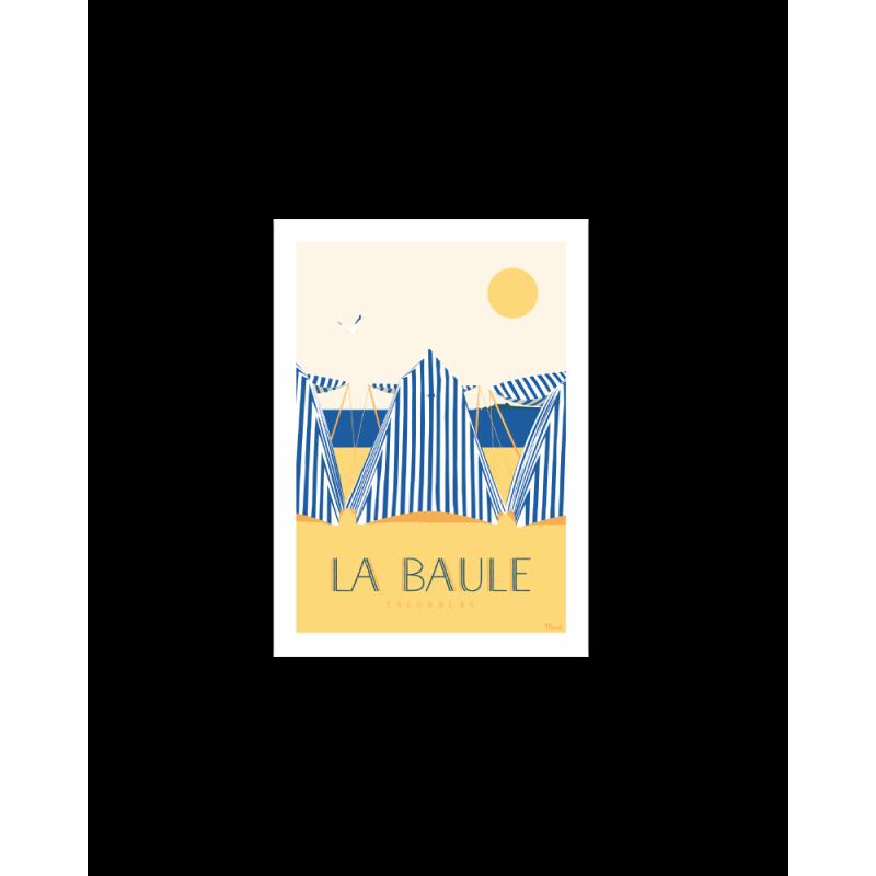 400 Marcel - Carte Postale LA BAULE Les Tentes