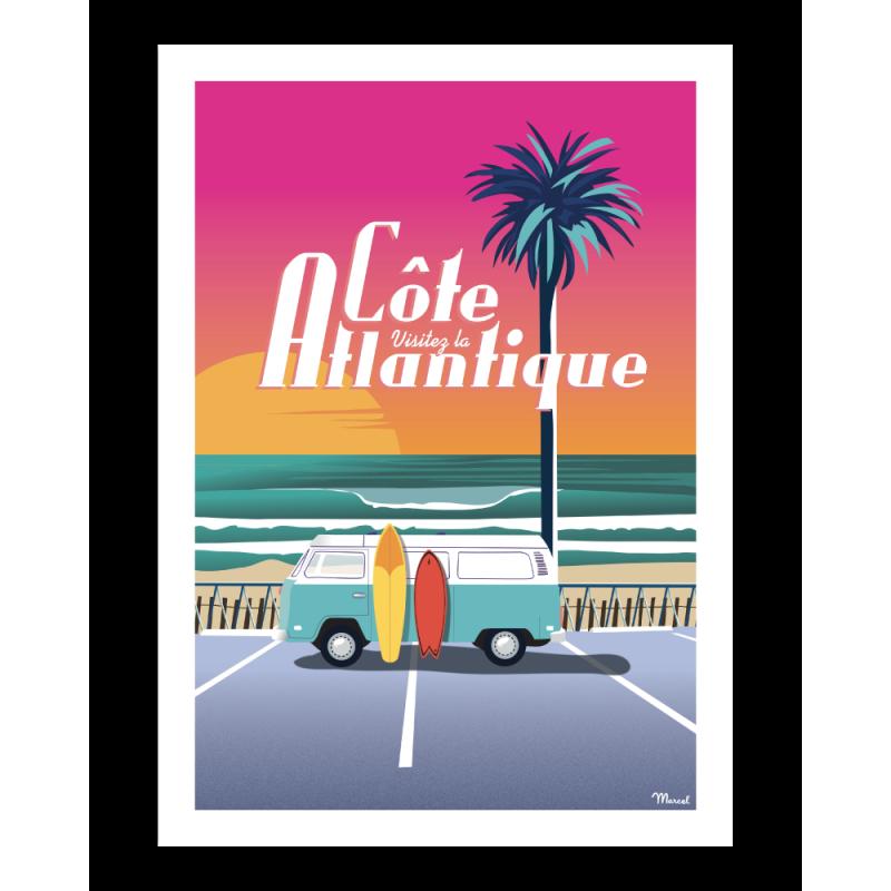 "404 Marcel - Côte Atlantique ""Van Sunset"""