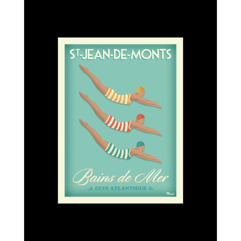 """Marcel -  Saint-Jean-de-Monts """"Bains de Mer"""""""