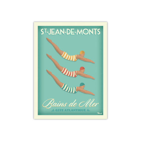 """412 Marcel - Saint-Jean-de-Monts """"Bains de Mer"""""""
