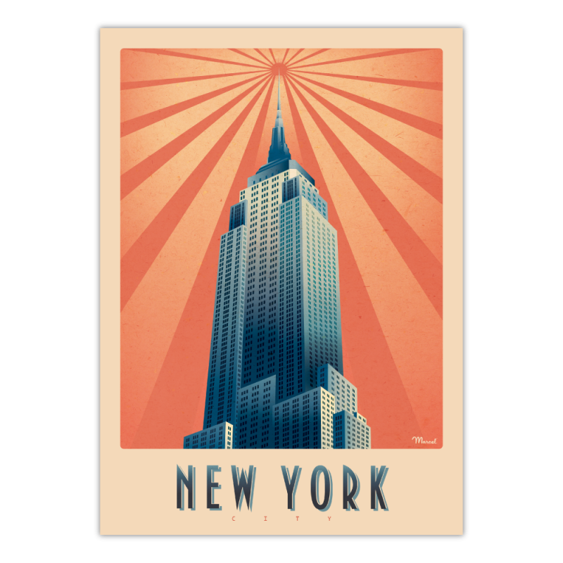 "Marcel - NEW YORK ""Empire State Building"""