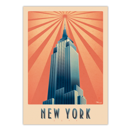 """Marcel - NEW YORK """"Empire State Building"""""""