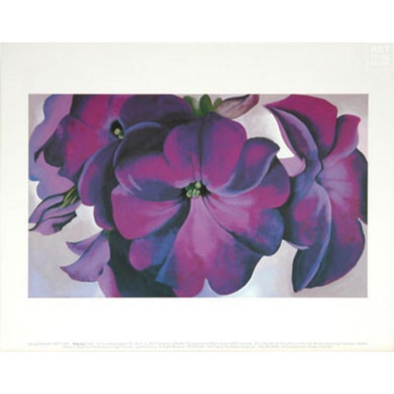 39 Georgia O'Keeffe - Petunias, 1925