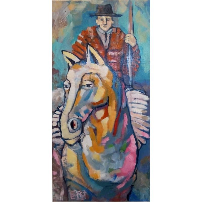 144 Julie Buffet - Le centaure picador