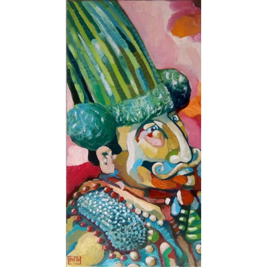 148 Julie Buffet - L'homme cactus 1
