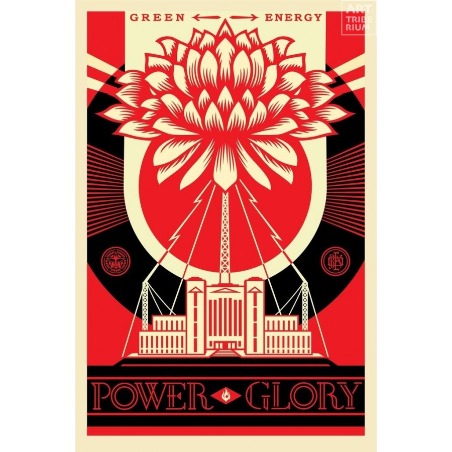 28 Shepard Fairey Obey - Green Power