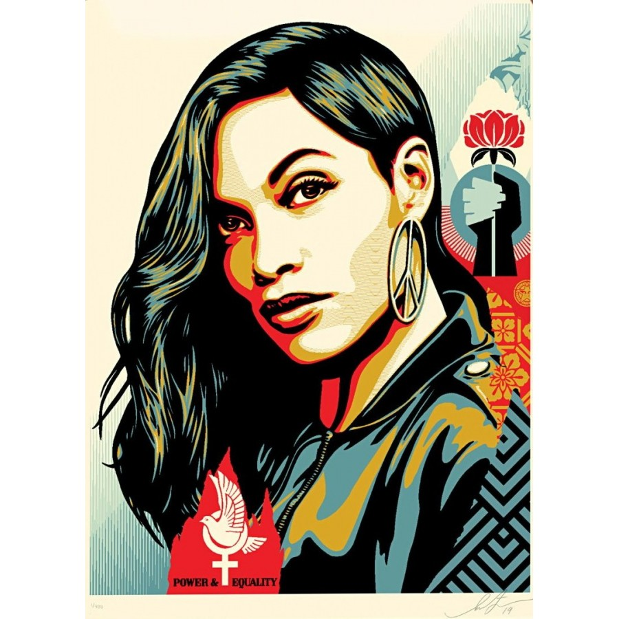 169 Shepard Fairey Obey - POWER & EQUALITY Dove