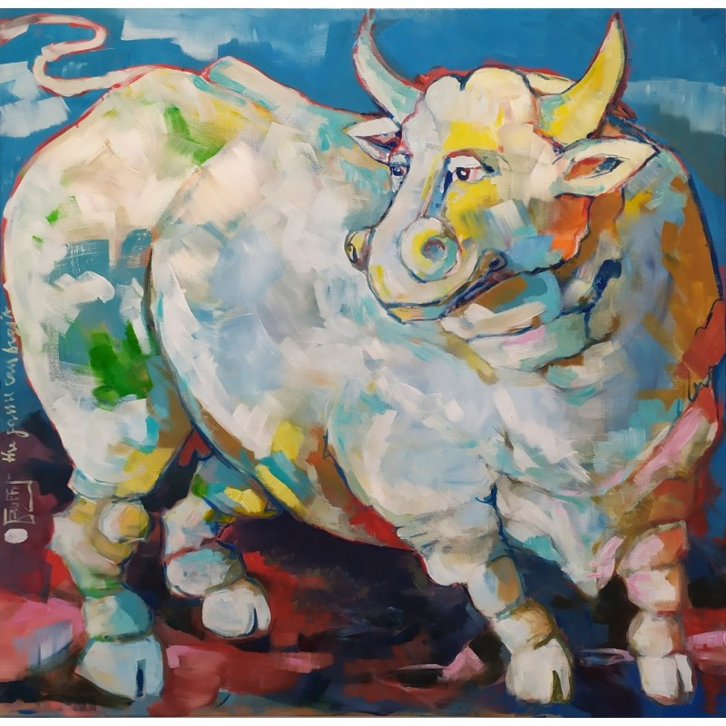 Julie Buffet - Le taureau blanc