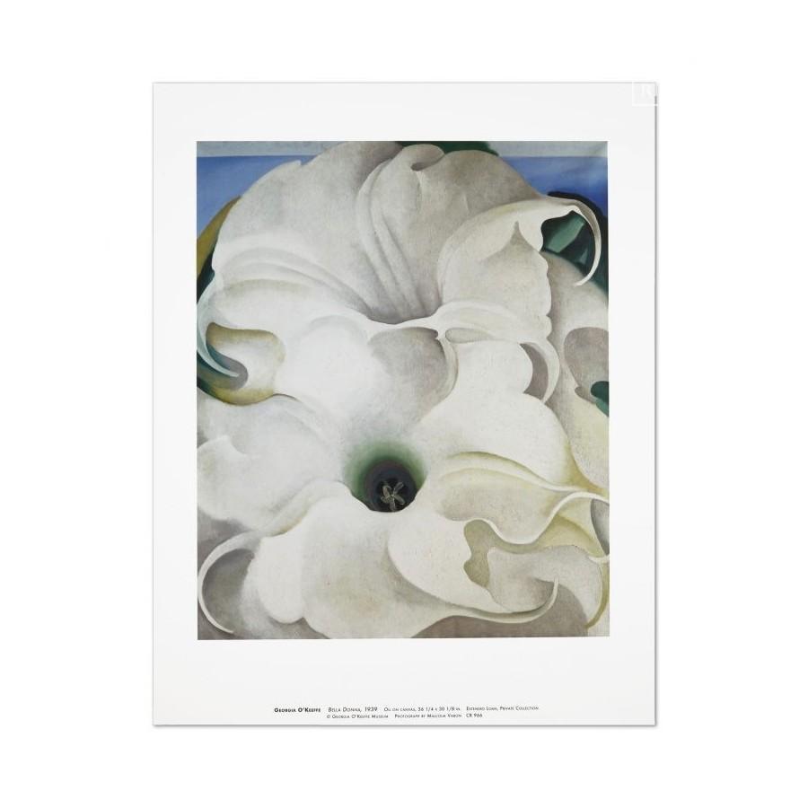41 Georgia O'Keeffe - Bella Donna, 1939
