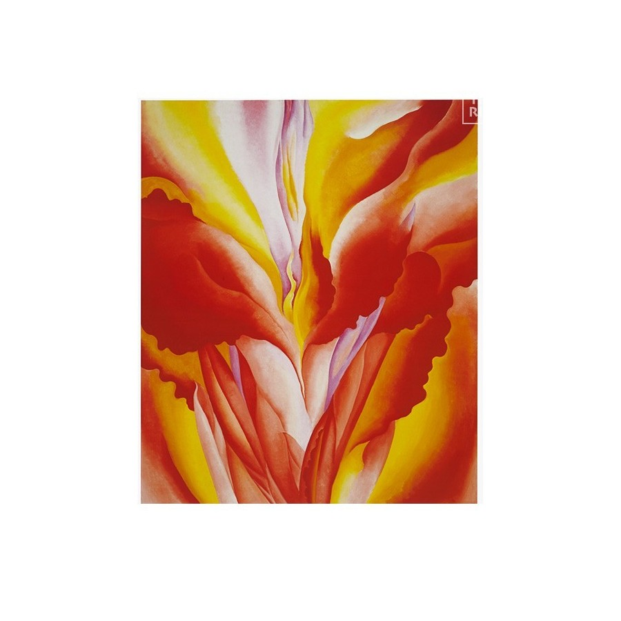 42 Georgia O'Keeffe - Red Canna, 1925-28