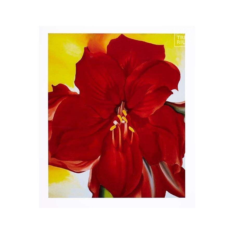 45 Georgia O'Keeffe - Red Amaryllis, 1937