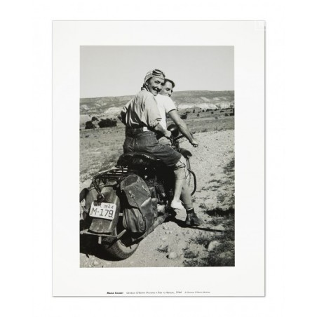 46 Georgia O'Keeffe - Hitching a Ride to Abiquiu