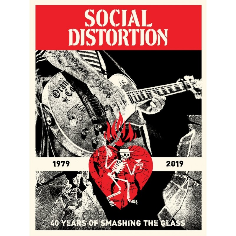 256 Shepard Fairey Obey - SOCIAL DISTORTION 40