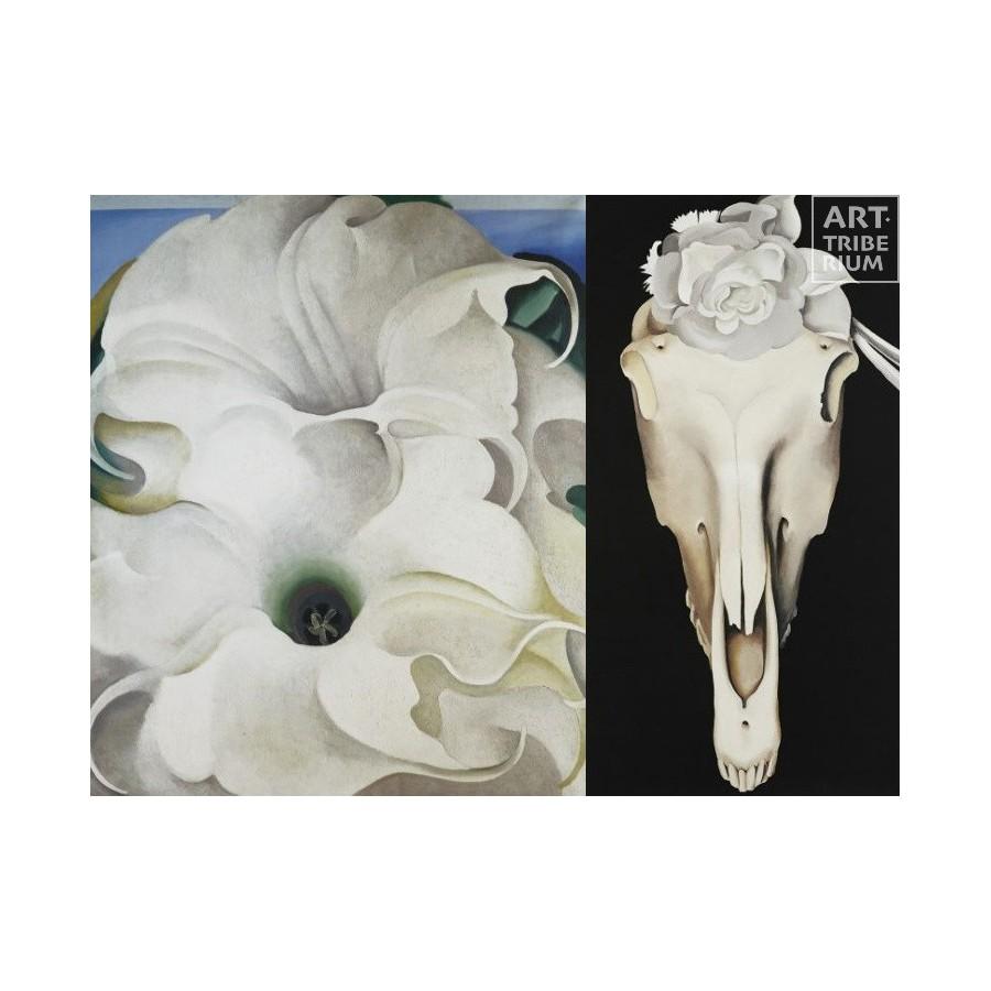 50 Georgia O'Keeffe - Duo Bella Skull