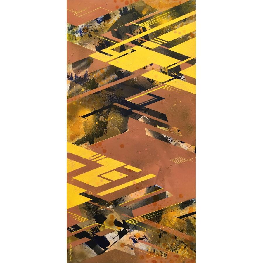 296 Loeil - Strata Layers Yellow