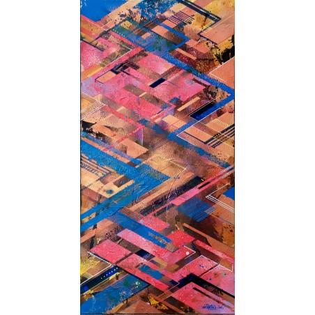 295 Loeil - Strata Layers Blue