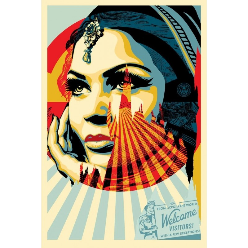 Shepard Fairey Obey - Target Exceptions