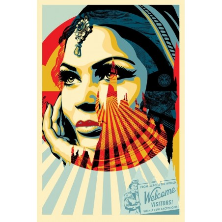 308 Shepard Fairey Obey - Target Exceptions