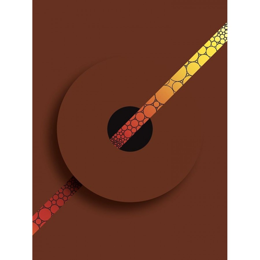 312 Loeil - Print série Minima Marron