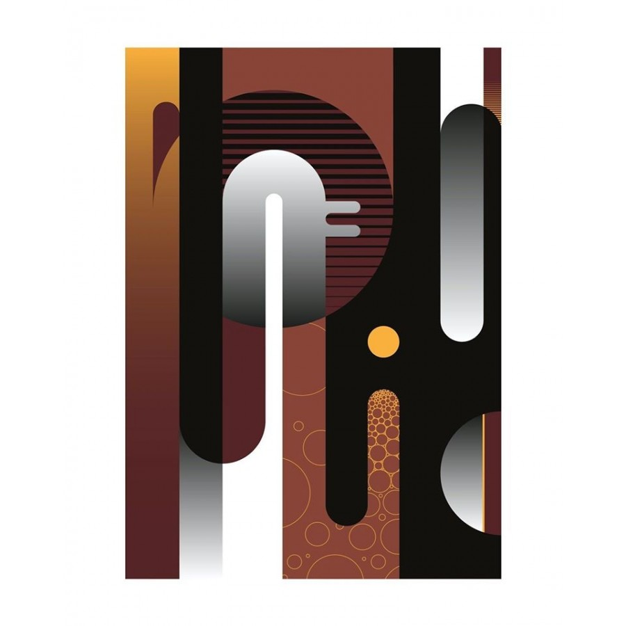 313 Loeil - Print série Lettrage Marron