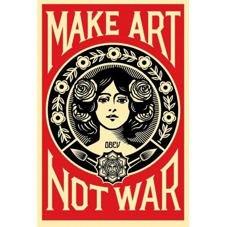 25 Shepard Fairey Obey - Make Art Not War